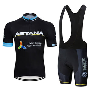 Cycling Jersey and Shorts Set