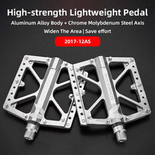 Load image into Gallery viewer, ROCKBROS Road MTB Alloy Bike Pedals Cycling Ultralight Aluminum Alloy 4 Bearings Road MTB Pedals