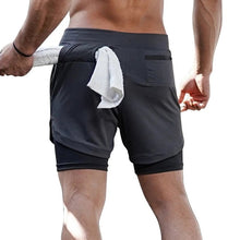 Load image into Gallery viewer, Stealth-Tech Jogger Shorts - Men's Fitness Workout Shorts