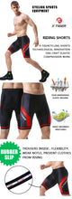 Load image into Gallery viewer, X-Tiger Coolmax 5D Padded Cycling Shorts Shockproof MTB Bicycle Shorts Road Bike Shorts