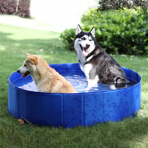 Foldable Dog Pool Pet Bath Swimming Tub Bathtub Outdoor Indoor Collapsible Bathing Pool for Dogs Cats Kids Pool