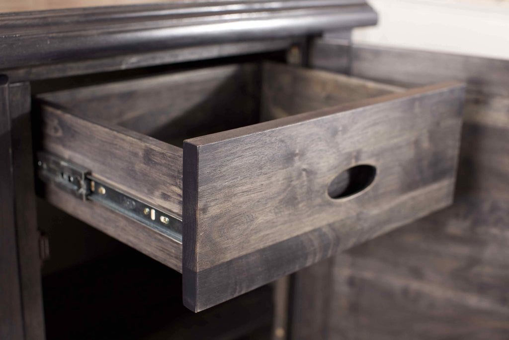 Sadie Sideboard in custom Charcoal stain.