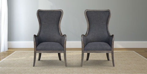Bentwood Upholstered Armchair