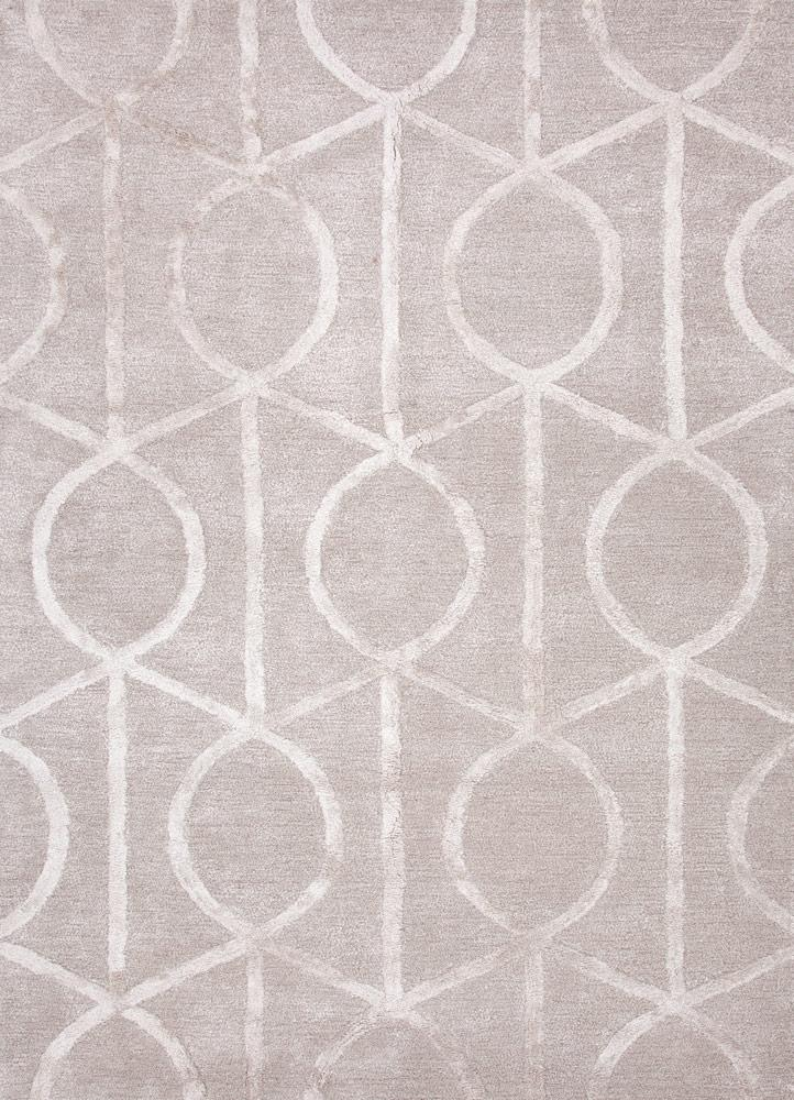 Helix Rug - Silver and Grey
