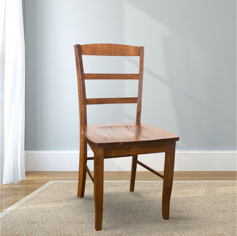 Emma Wood Dining Chair in Tuscany Finish