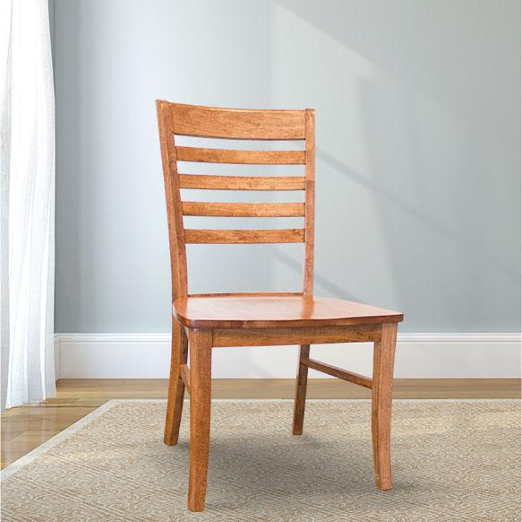 Thomas Wood Dining Chair in a custom finish