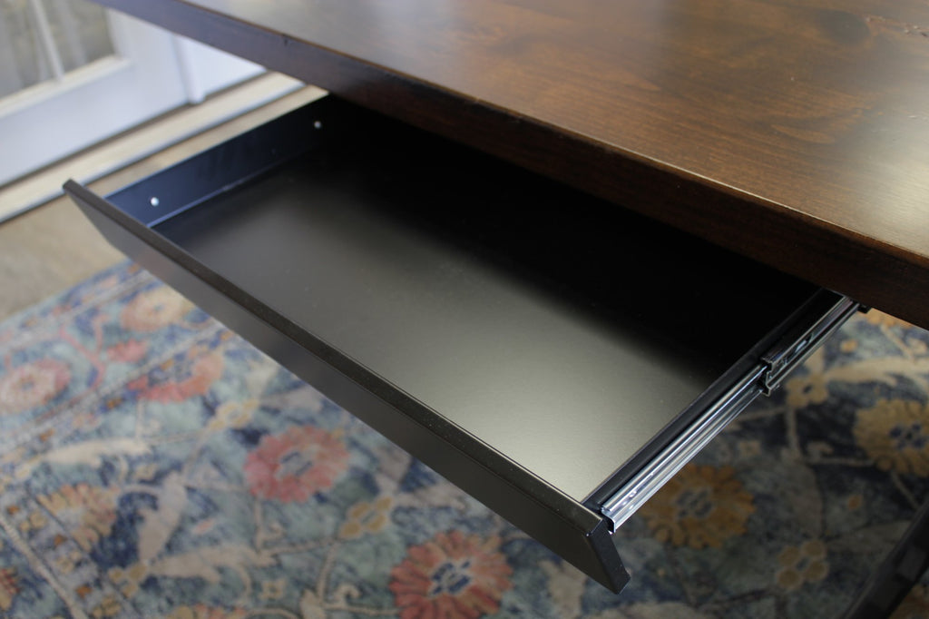 Customize your desk with an optional under desk storage drawer.