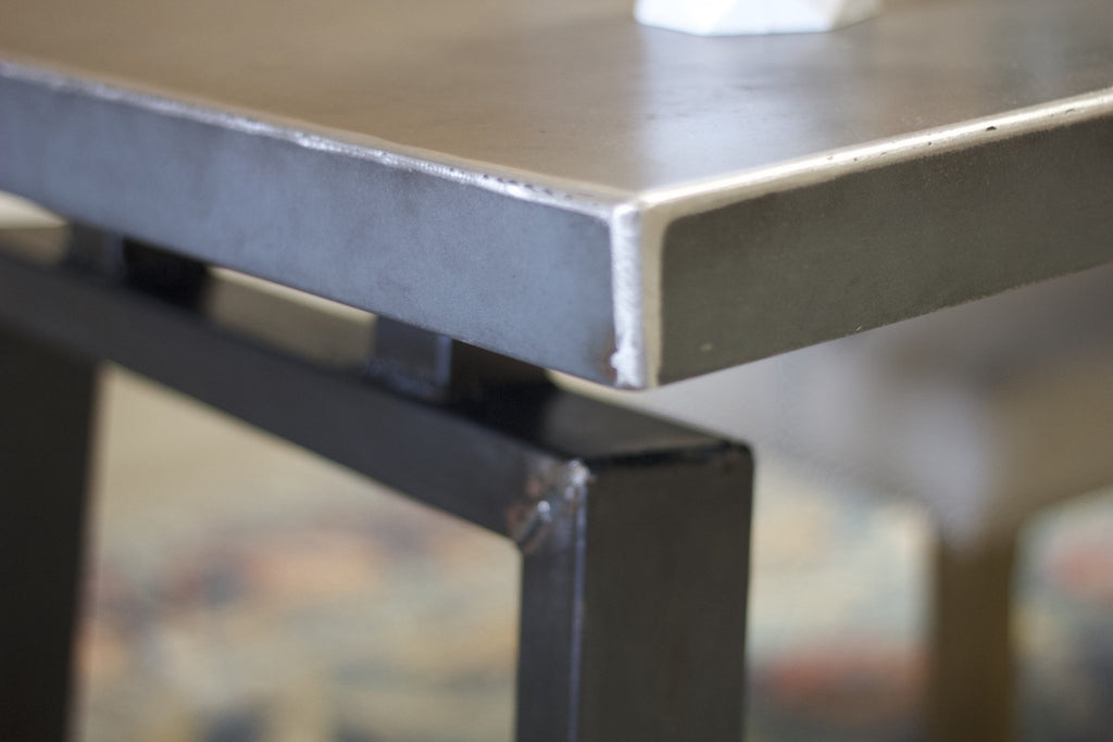 Industrial Steel Desk Top