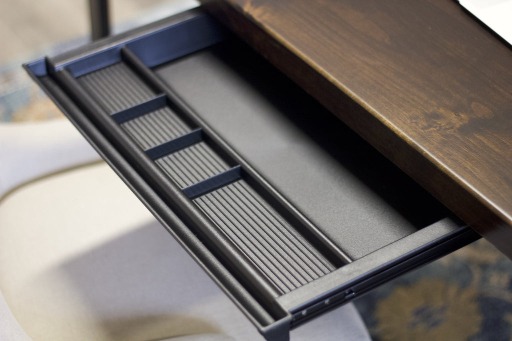 Customize your desk with a Pencil Drawer.