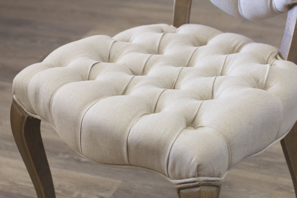 Tufted Seat detail.