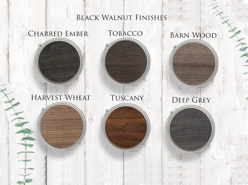 Black Walnut Stain Guide