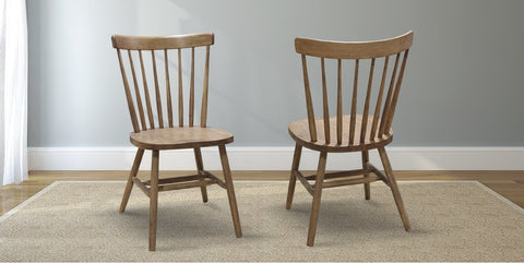 Rustic Windsor Dining Chair