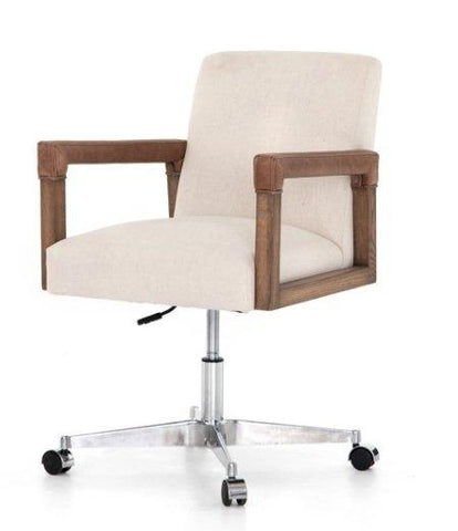 Asher Office Chair - Natural Upholstery
