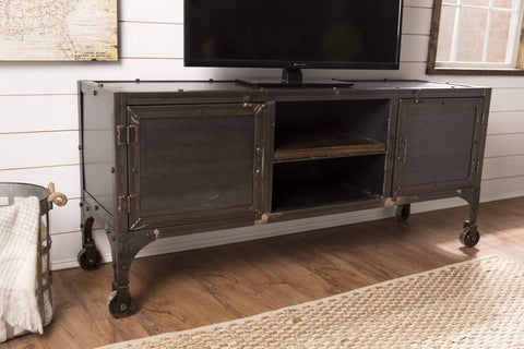 Factory Metal Media Console
