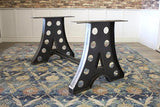 Amelia Industrial Table Base.