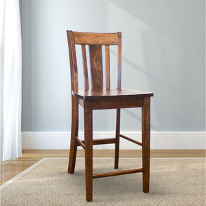 William Wood Counter Stool in Tobacco Finish