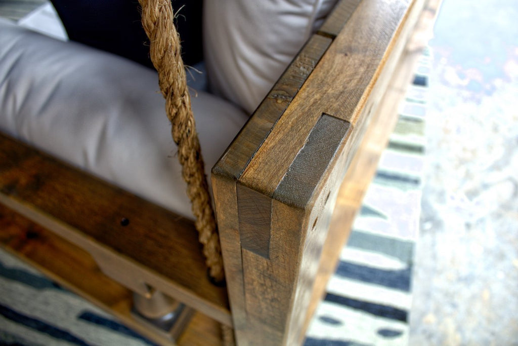 Maisie Wood Porch Swing Bed Daybed Twin Or Crib Size By James And James James James