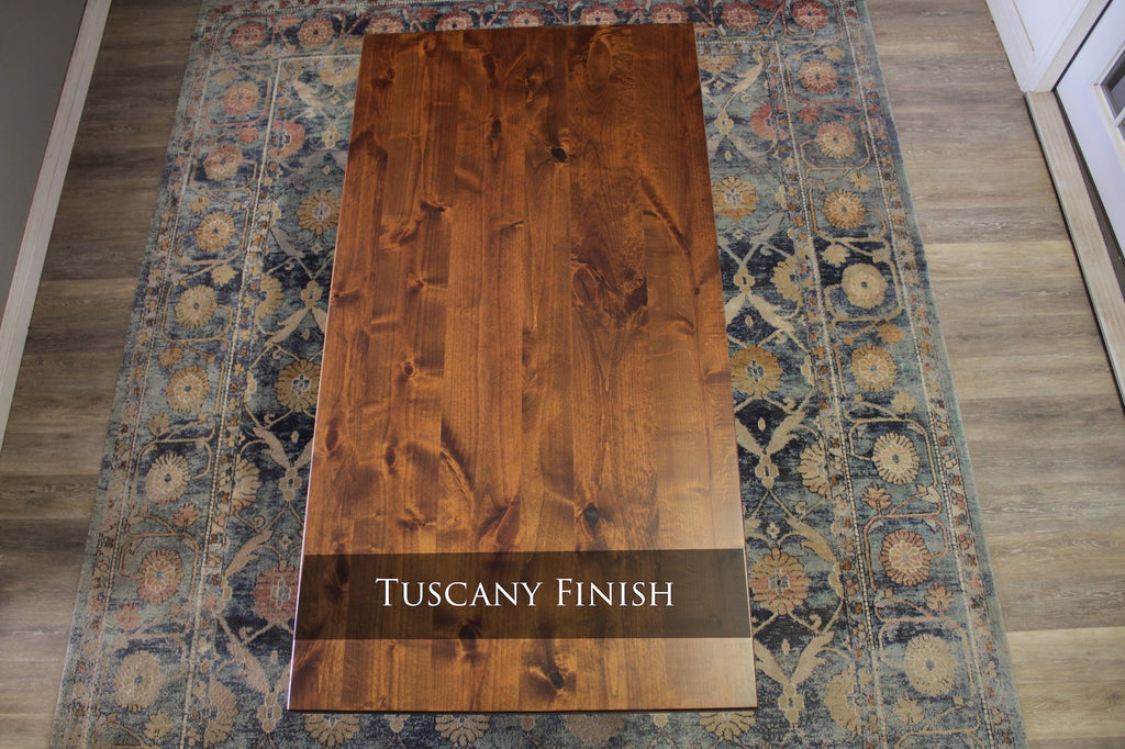 Tuscany Finish with Top Knots Filled