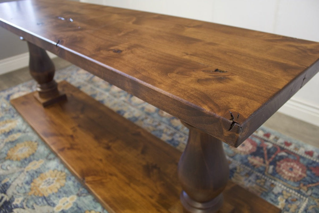 6' L Sofa Table in Tuscany Finish.