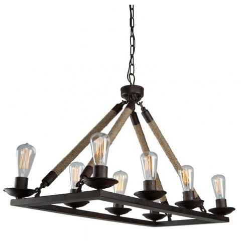 Danbury Chandelier 8 Light