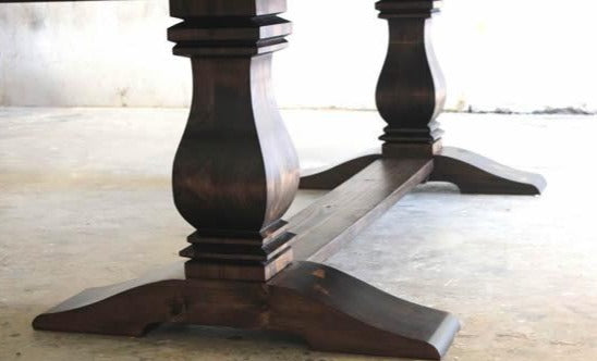 Heirloom Pedestal Table base.