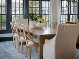 Willow T-Base Table with Emilie Side Chairs