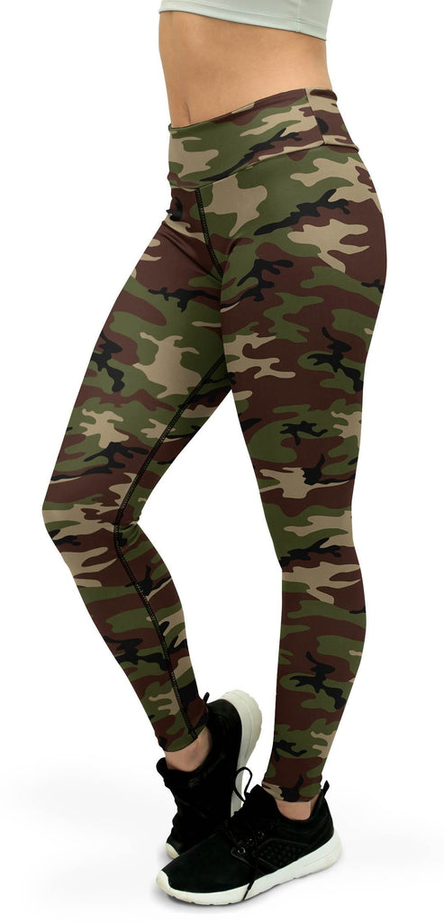 Army Camo Yoga Pants