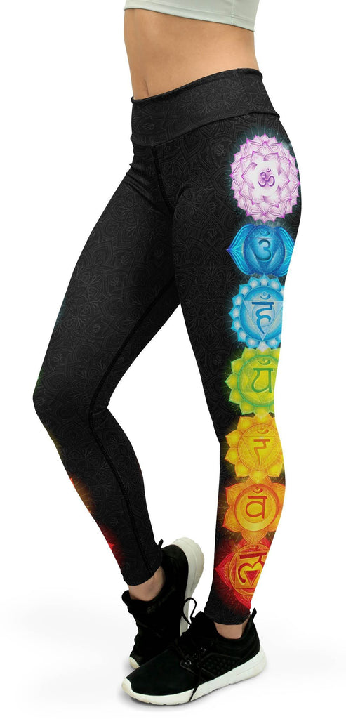 Chakras Yoga Pants