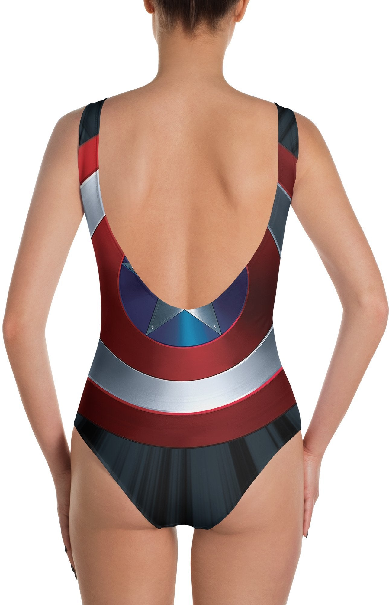 Captain America's Shield Swimsuit