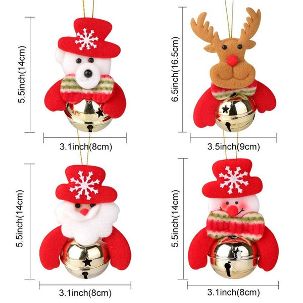 Christmas Decoration Elf Doll Plush And Christmas Tree Hanging Ornament