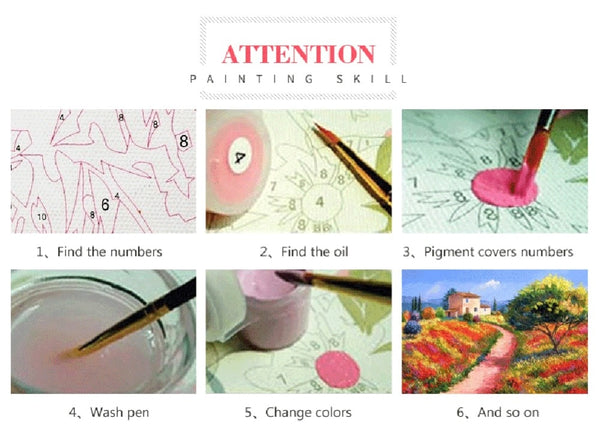 Personality Photo Customized DIY  Painting By Numbers