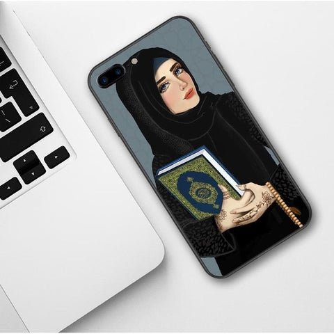 Unique iPhone Case of Luxury Woman In Hijab Holy Cover