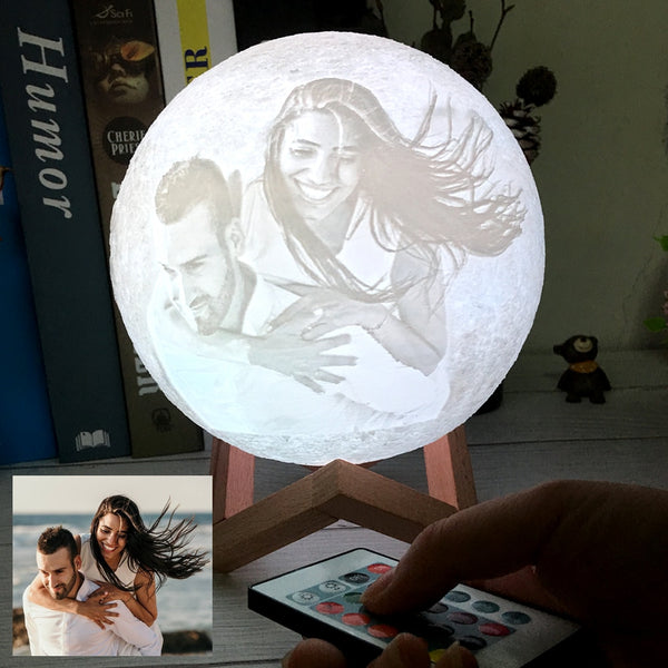 Personalized Moon Lamp Gift For Husband