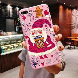 Unique iPhone case of Santa Claus Is Comin To Your Town