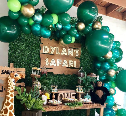 Jungle Hawaii Safari Theme Party Supplies