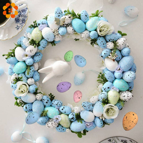 50PCs Happy Easter Egg Decoration