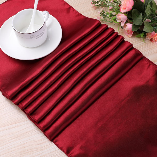 High Quality Satin Table Runner Table Decoration For Home Party Wedding Christmas Decoration