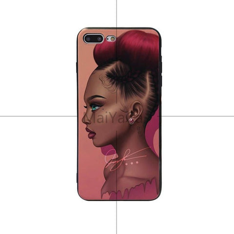 Unique Hair Style and Trending north american iPhone Cover