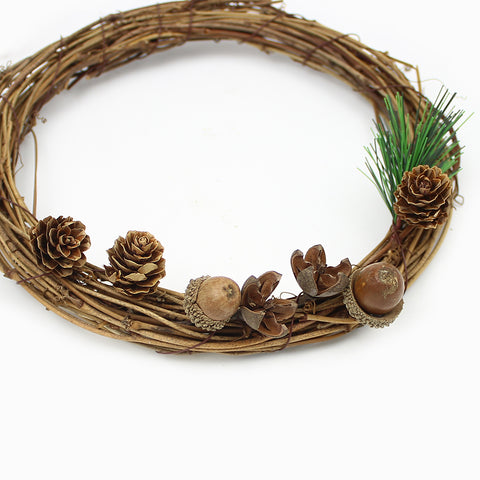20Pieces Natural Dried flowers Pine cone Artificial Flower For Home Christmas DIY Garland Wreath Decoration