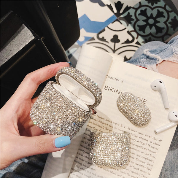 Bling diamonds Apple Airpods Case