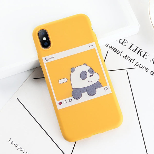 Funny Cute Meme iPhone Case