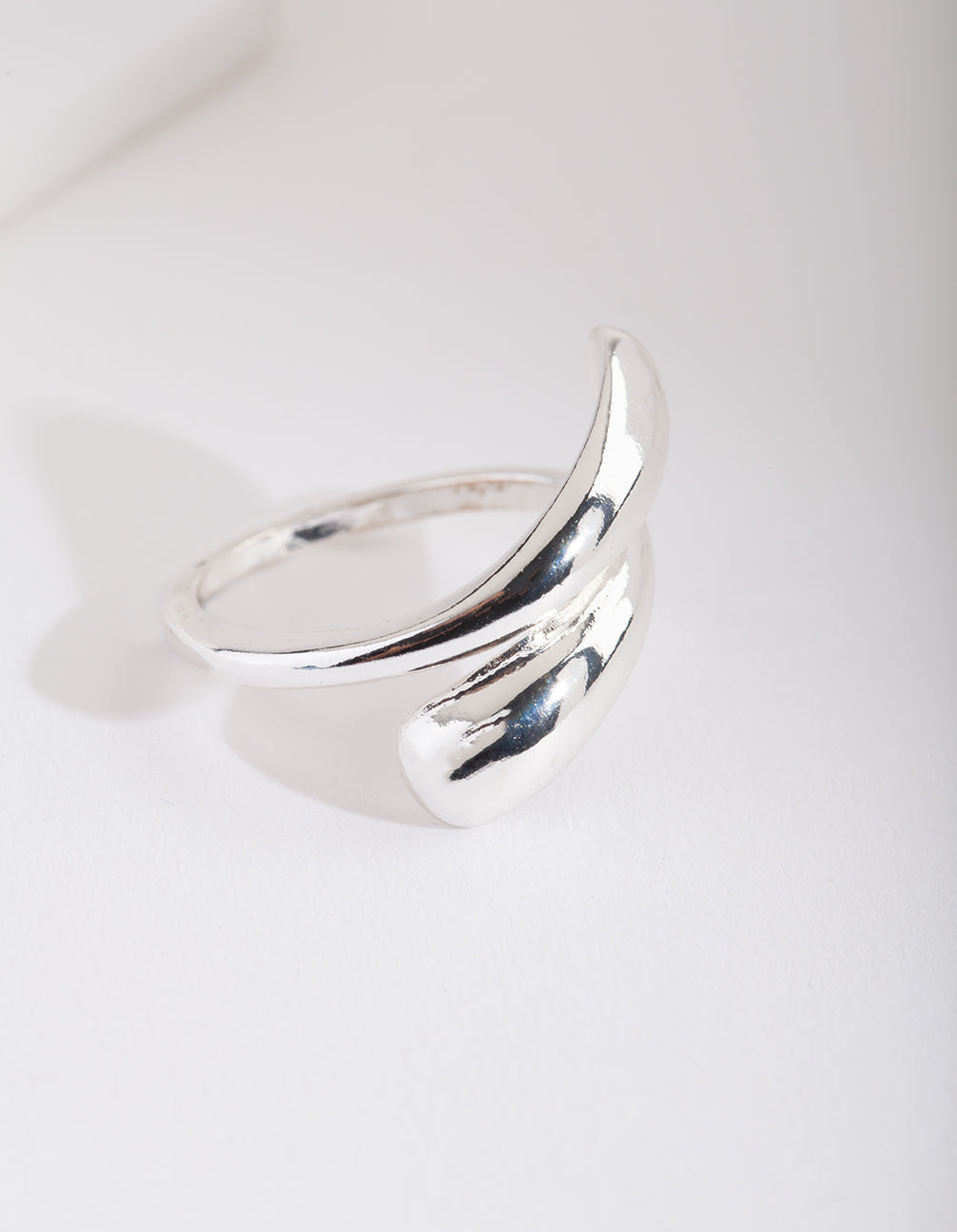 Silver Wrap Around Ring