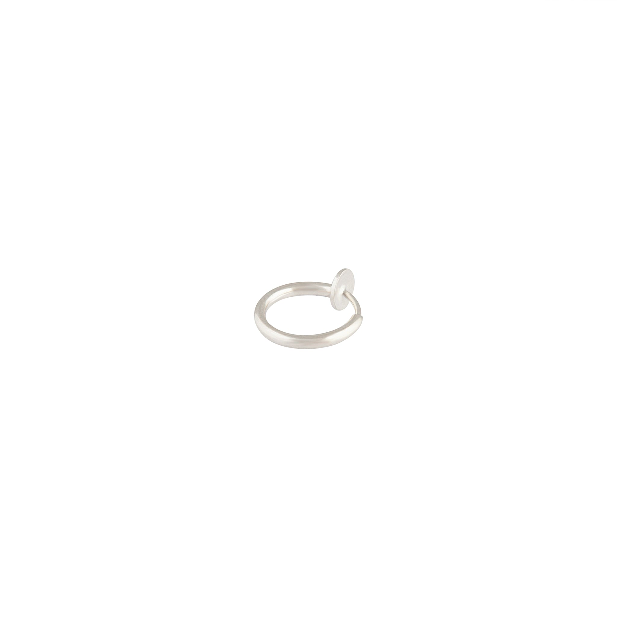 Silver Faux Body Ring
