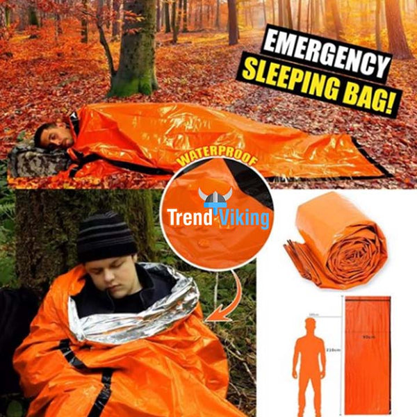 Emergency Waterproof Sleeping Bag®