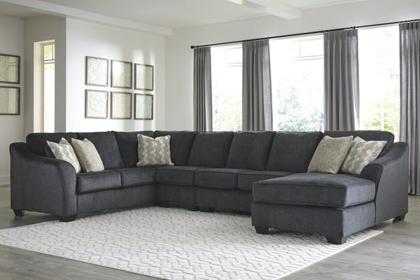 Eltmann 4-Piece Sectional with Right-Arm Facing Chaise
