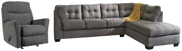 Maier Stationary Sectional 3-Piece Upholstery Package