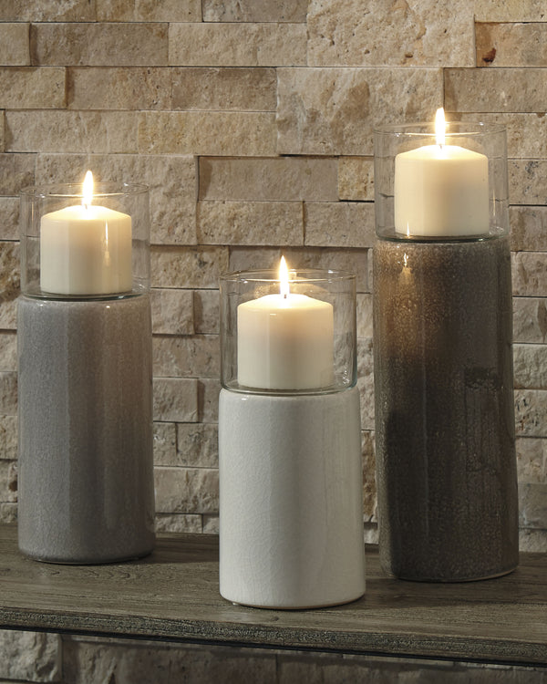 Deus Candle Holder Set of 3