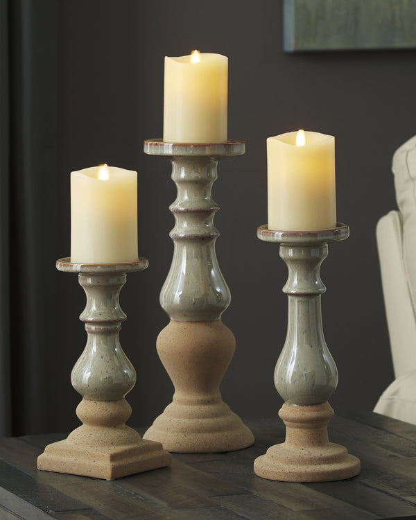 Emele Candle Holder Set of 3