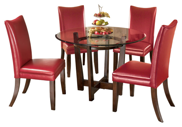 Charrell Signature Design 5-Piece Dining Room Package