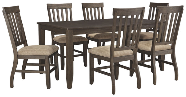Dresbar Signature Design 7-Piece Dining Room Package
